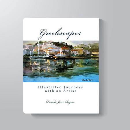 Greekscapes illustrated - Journeys with an Artist - Pamela Jane Rogers - Visual Artist & Author