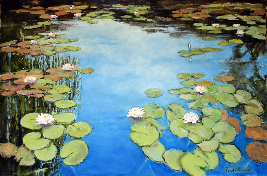 Giverny Waterlilies - Pamela Jane Rogers - Visual Artist & Author